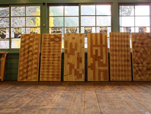 小国杉 木 ポップアップ テーブル
