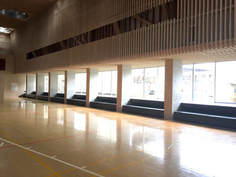 旧北里小学校体育館 (熊本県小国町)